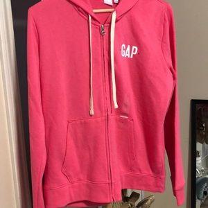 NWT GAP Zip front hoodie